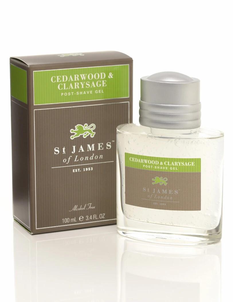 St. James of London Cedarwood & Clarysage Post-Shave Gel