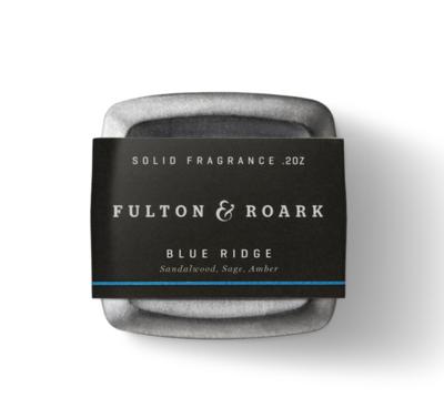Fulton & Roark Blue Ridge Solid Cologne