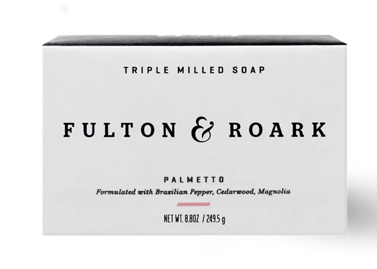 Fulton & Roark Palmetto Bar Soap