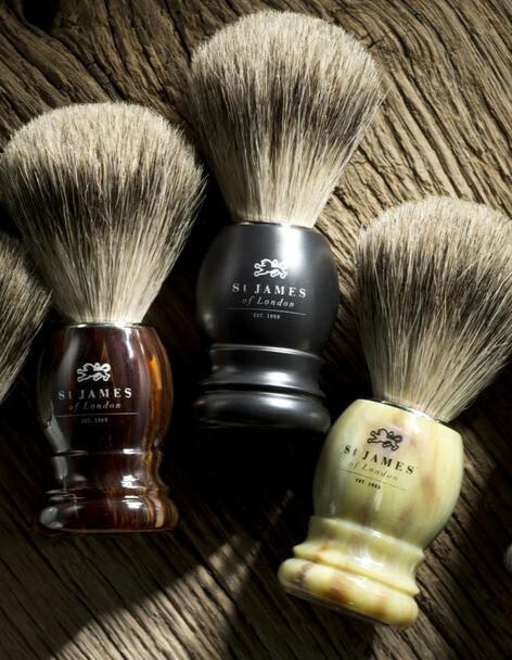 St. James of London Super Badger Shave Brush