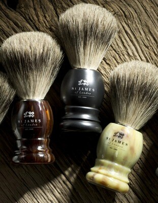 St. James of London Super Badger Shave Brush