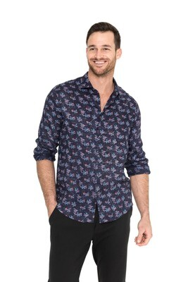 Raffi The Raven Linen Shirt