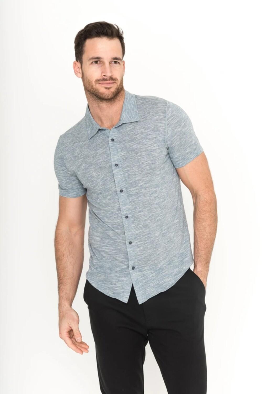 Raffi The TJ S/S Button Front Shirt           (2 colors available)