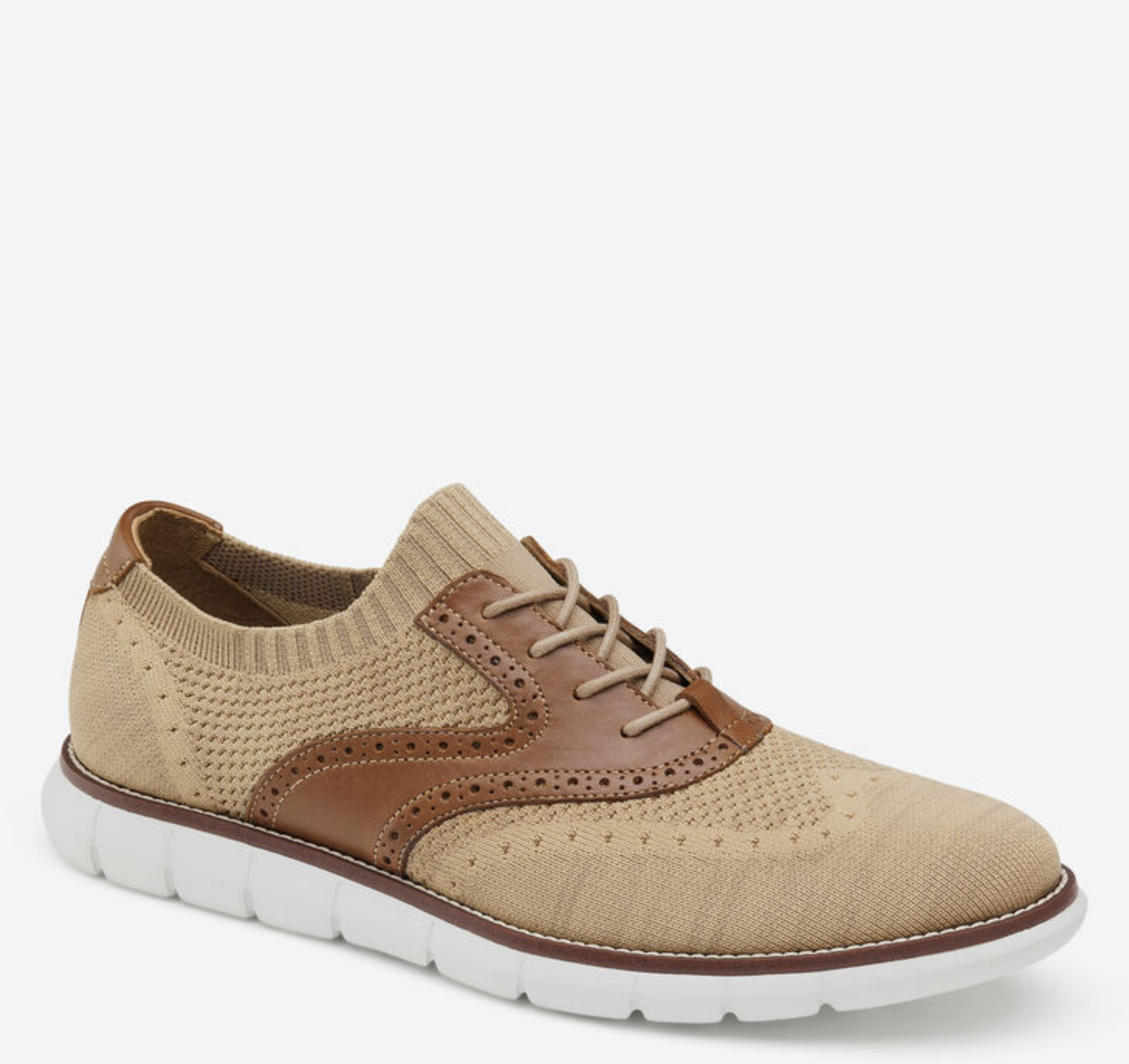 Johnston and Murphy Holden Knit Wingtip