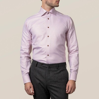Burgundy Zic-Zac King Twill Contemporary Fit Shirt