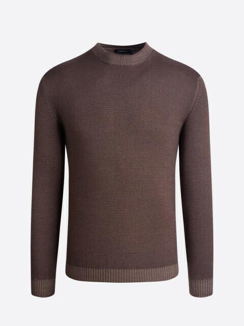Bugatchi Long Sleeve Crew Neck Sweater