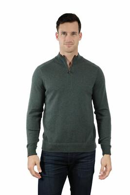 Raffi 1/4 Zip 100% Cashmere Sweater