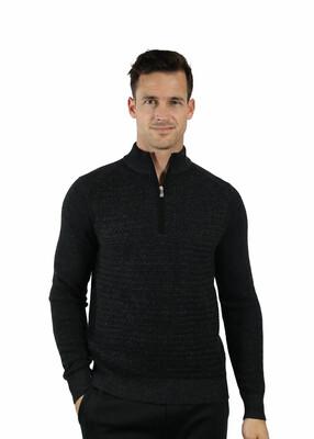 Raffi THE ACE 1/4 Zip Long Sleeve Sweater