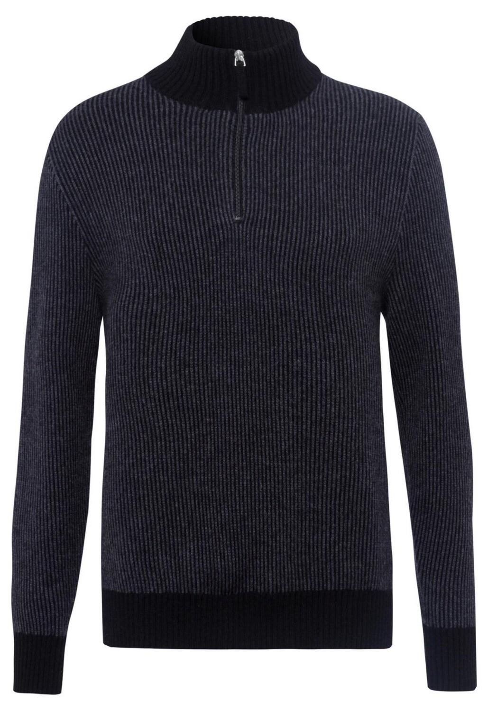 F.T.C. Troyer Cashmere Fine Stripe Sweater