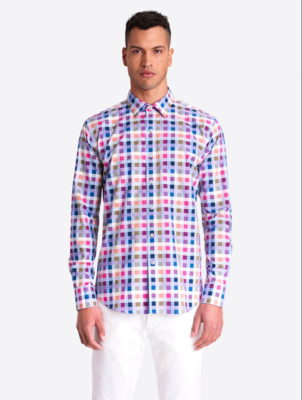 Checked Classic Fit LS Shirt
