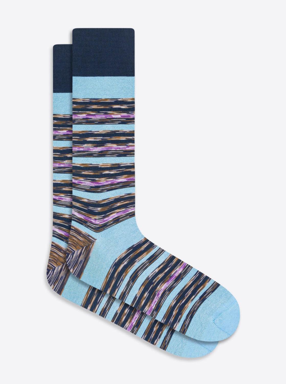 Bugatchi Striped Sock (4 Colors)