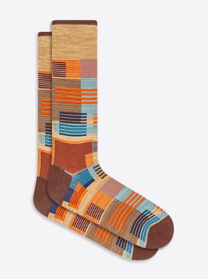 Bugatchi Patchwork Sock (6 Colors)