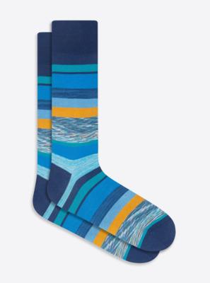 Bugatchi Striped Sock (2 Colors)