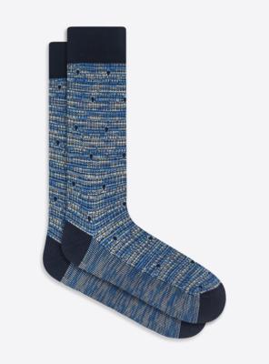 Bugatchi Melange Dot Sock (4 Colors)