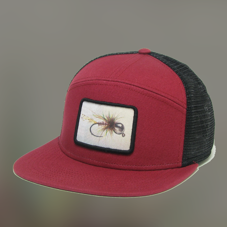 Bead Headed Nymph Fly Hopback Trucker Hat