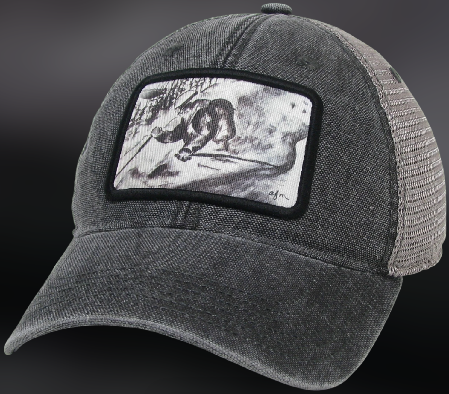 On The Slopes Dashboard Trucker Hat