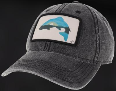 Sunset Trout Dashboard Adjustable Hat