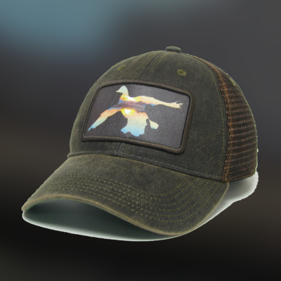 Sunset Duck Greaser Hat