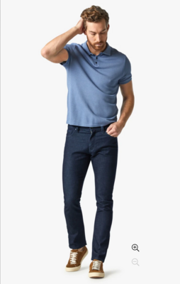 34 Heritage Charisma Relaxed Straight Jeans In Rinse Sporty