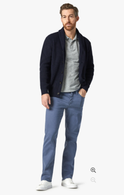 34 Heritage Charisma Relaxed Straight Pants In Horizon Soft Touch