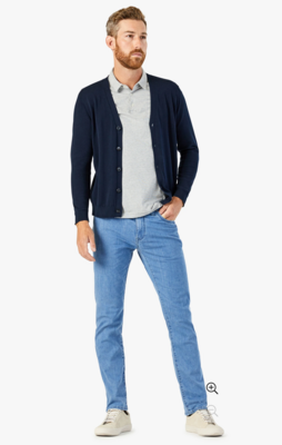 34 Heritage Charisma Relaxed Straight Jeans In Light Kona