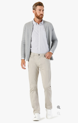 34 Heritage Courage Straight Leg Pants In Dawn Twill