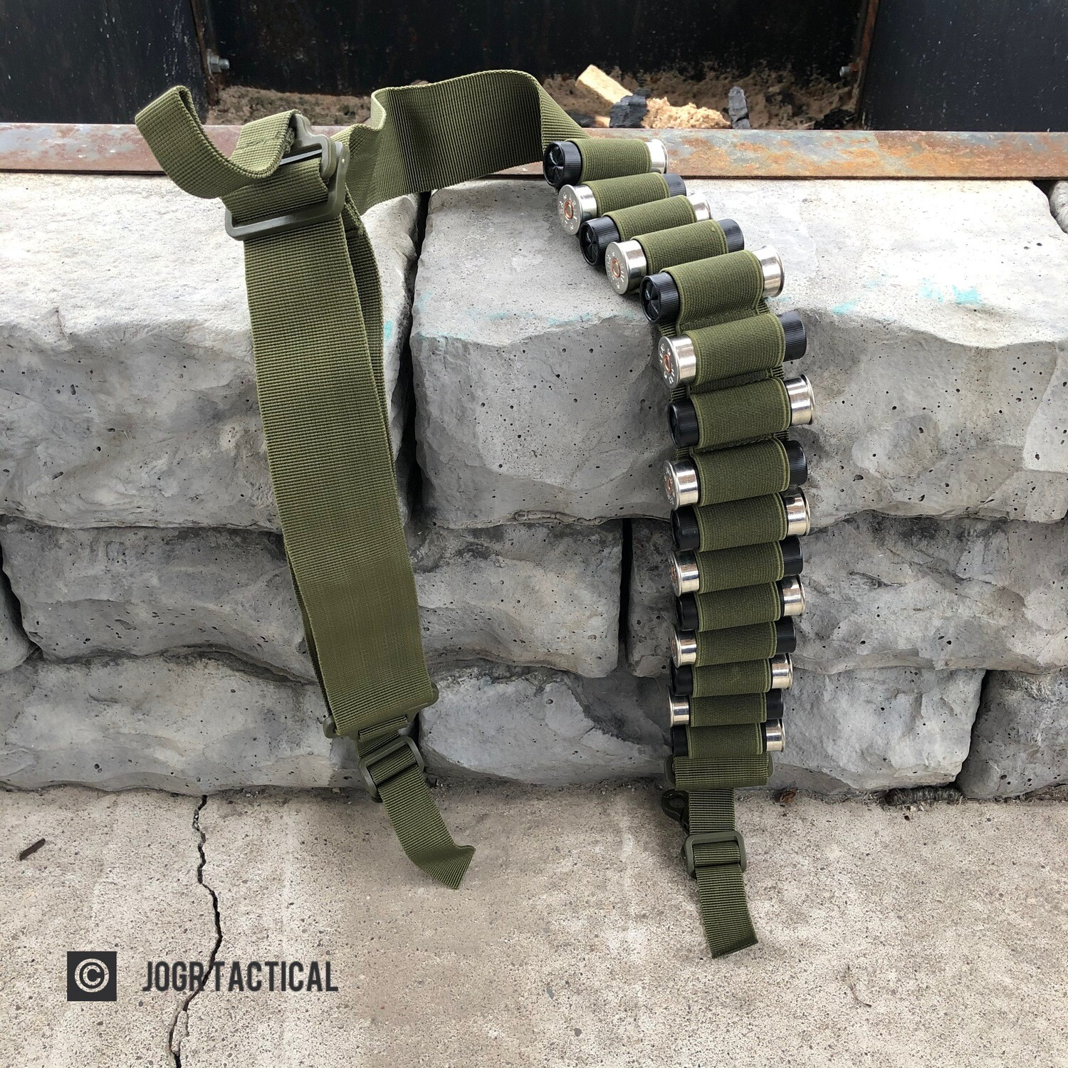 JOGR Shot Shell Sling - GREEN