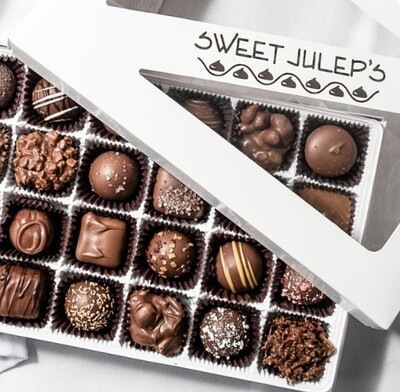 1 Pound Box of Assorted Milk Chocolates