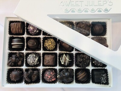 1 Pound Box of Assorted Dark Chocolates