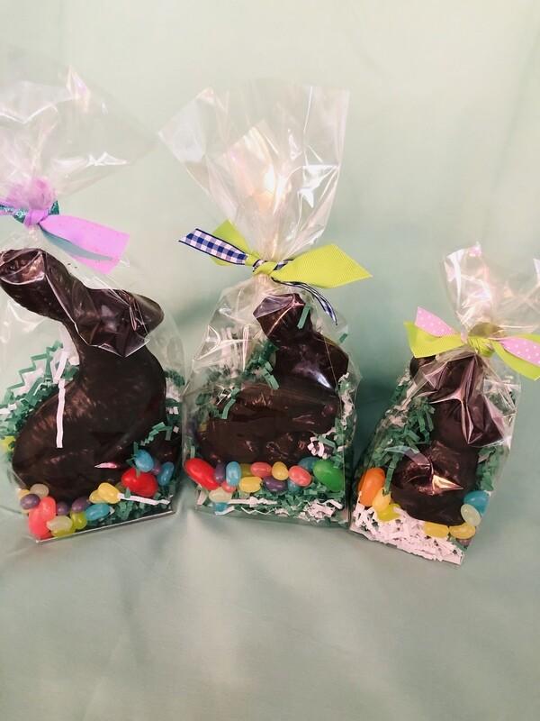 Solid Dark Chocolate Bunnies