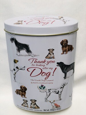Thank You For Looking After My Dog Tin