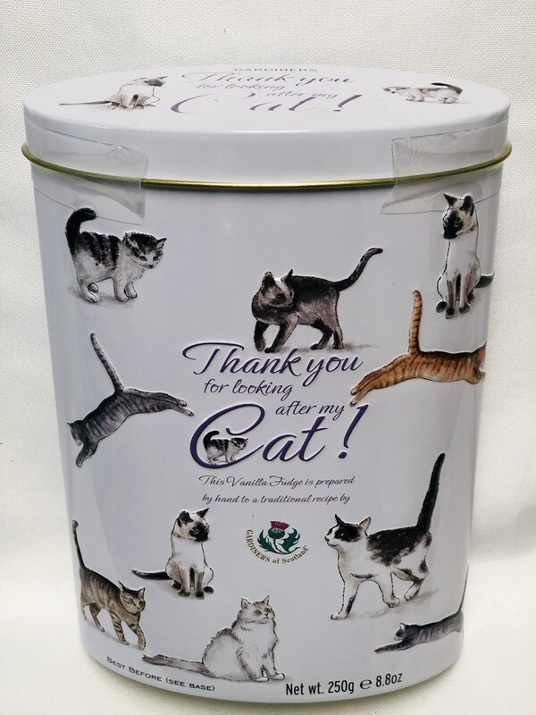 Thank You For Looking After My Cat Tin