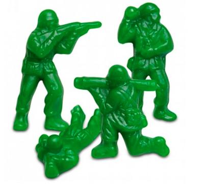 Gummy Green Army Men
