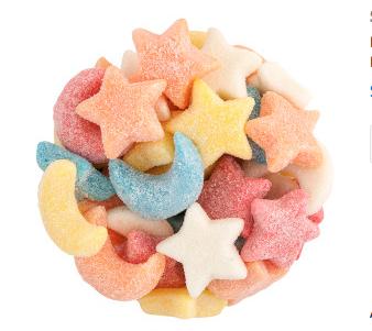 Gummy Moons & Stars