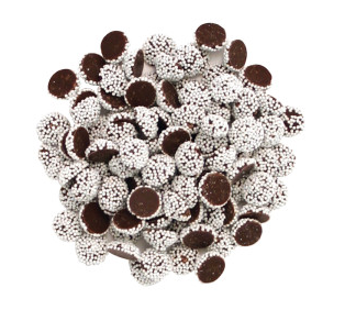 Dark Chocolate Mini Nonpareils | Sno Caps
