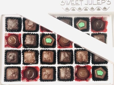 SUGAR FREE - 1 Pound Box of Assorted Chocolates