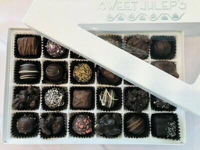 1 Pound Box of Assorted Dark Chocolates