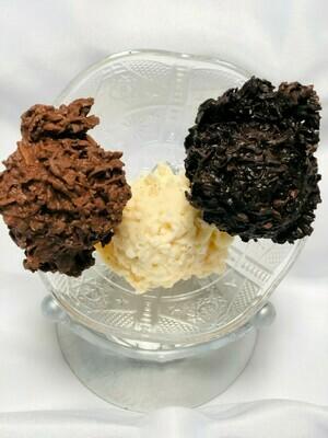 Chocolate Coconut Haystacks (4)