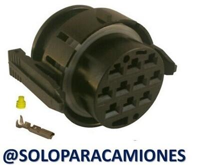 CONECTOR ELéCTRICO 10 VíAS REDONDO