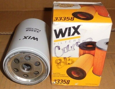 FILTRO COMBUSTIBLE GASOIL WIX 33358 FORD CARGO 815 / DAILY
