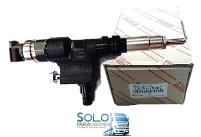INYECTOR ELECTRONICO COMPLETO TOYOTA DYNA 4.0 LTS. MOTOR N04C / HINO SERIE 300