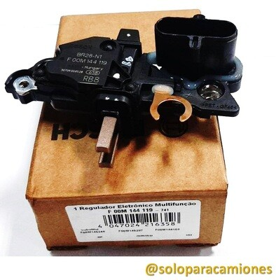 REGULADOR ALTERNADOR BOSCH 24Volts. 5 PINES IVECO TECTOR BOSCH