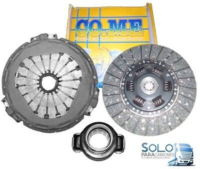 KIT EMBRAGUE PLATO DISCO, COLLARIN IVECO DAILY / POWER DAILY
