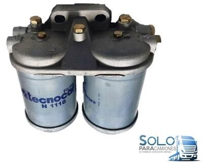 BASE DOBLE FILTRO GASOIL PEGASO / RETROEXCAVADOR