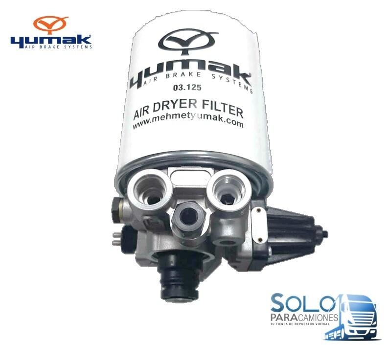 VALVULA SECANTE CON FILTRO 8.5 Bar IVECO STRALIS / TRAKKER / TECTOR YUMAK