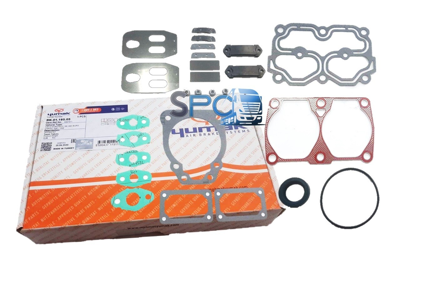 KIT EMPACADURAS COMPRESOR 82mm. IVECO EURO TRAKKER / TECH YUMAK