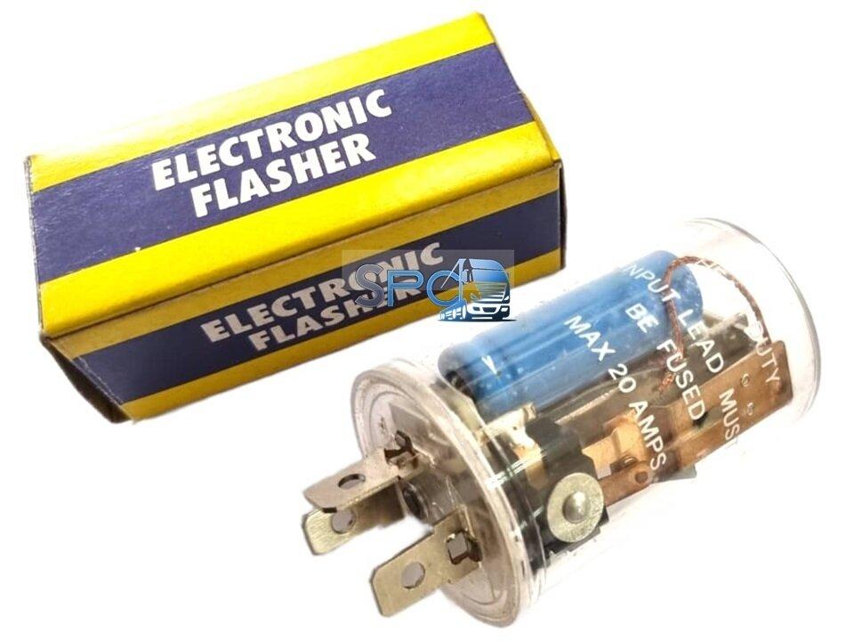 FLASER ELECTRONICO LUZ INTERMITENTE 24 Volts. 3 PATAS MAX 20 Amps.