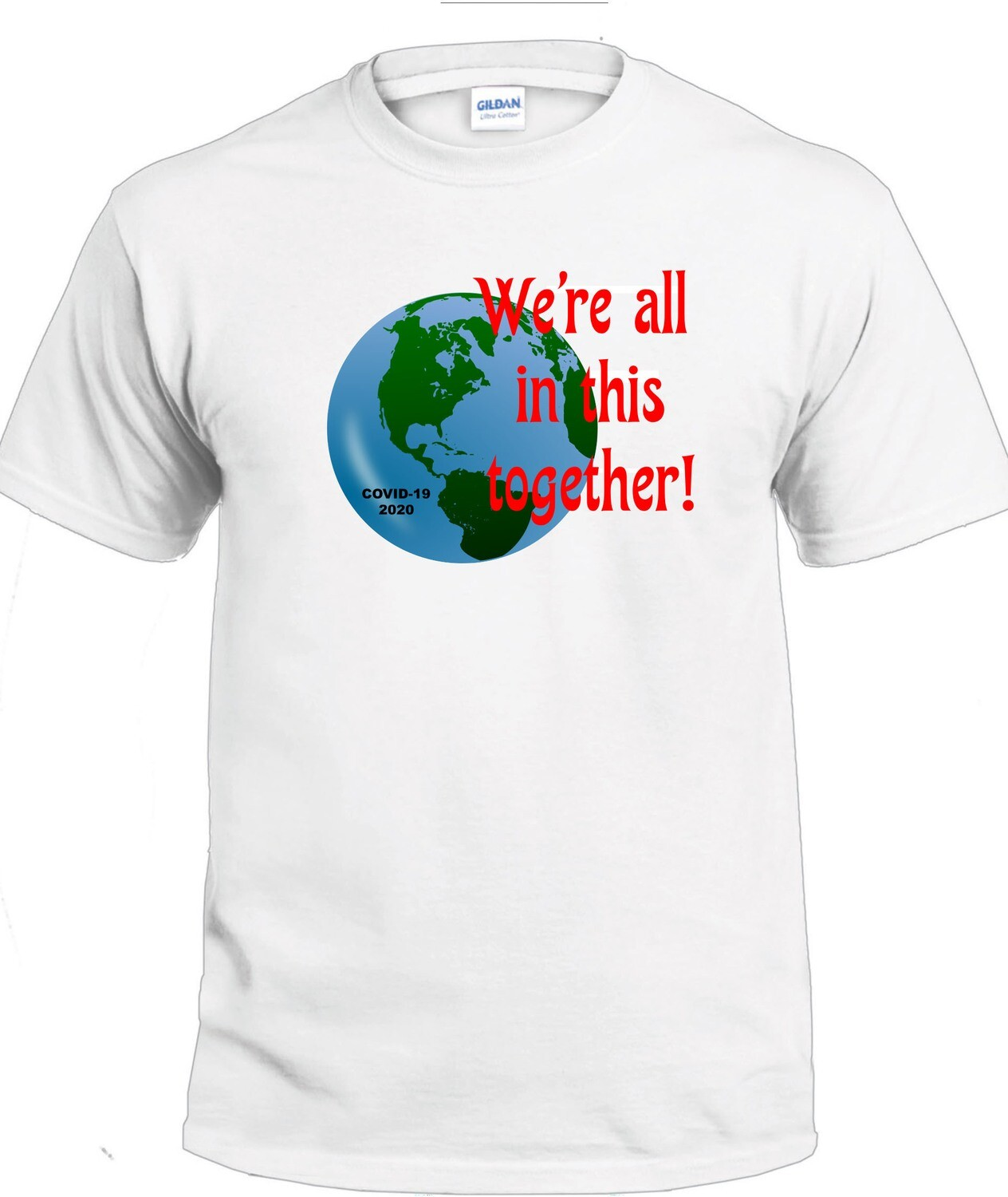 Together T-Shirt (Full Color on White)