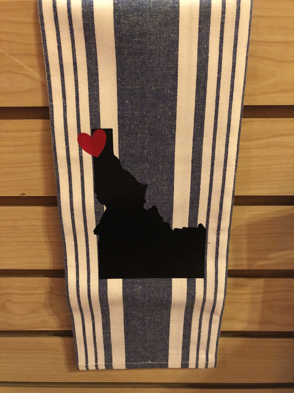 Kitchen Towel Idaho Heart