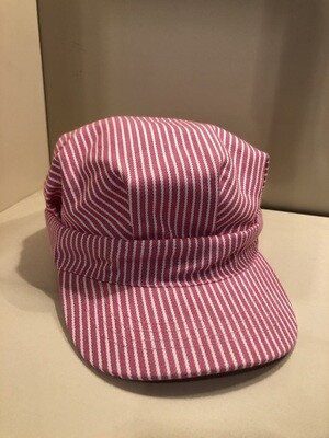 Youth Train Conductor Hat, Pink